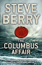 DIE COLOUMBUS AFFAIR ___ STEVE BERRY ____ BRANDNEU __ WERBEANTWORT UK