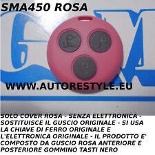 COVER GUSCIO ROSA PER TELECOMANDO SMART FORTWO 450 3 TASTI - USA TUA CHIAVE