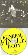 FUNERAL PARTY Finale CARD SLEEVE UK PROMO DJ CD single 2010 THE CURE USA seller