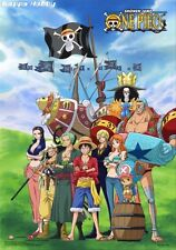 "ebiVibe One Piece: Straw Hat Pirates Sailing Again Group Wall Scroll 27.8"" X 19."