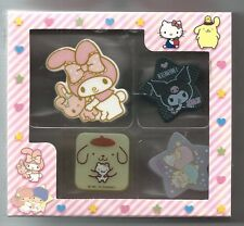 Sanrio Charcters Clips Melody Kuromi Purin Twin Stars #3 Limited Ed