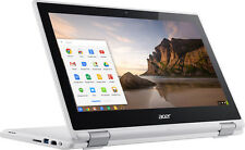 "Acer - R 11 2-in-1 11.6"" Touch-Screen Chromebook - Intel Celeron - 4GB Memory..."