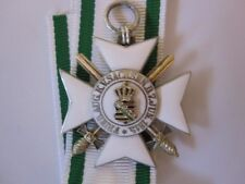 German WWI Saxony Civil Merit Order 2nd Class Silver with Swords