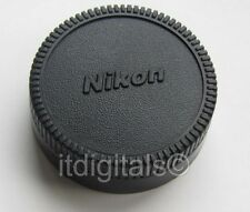 Rear Lens Cap For Nikon Nikkor F mount Lenses VR AF DX End Dust Safety Cover HQ