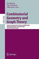 Combinatorial Geometry and Graph Theory: Indonesia-Japan Joint Conference, IJCCG