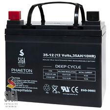 Akku 35Ah 12V AGM GEL Batterie Solar Golf Caddy Cart Trolley 33Ah 35Ah 36Ah 40Ah