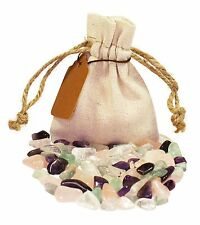 Health Power Pouch Healing Crystals Stones Set Tumbled Natural Gemstones