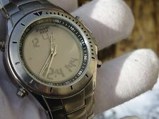 Pulsar by Seiko Gents ana/digi wrist watch New battery fitted PS24 NX04-X003