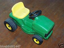 Vintage ERTL John Deere Ride On Mower Toddler Size