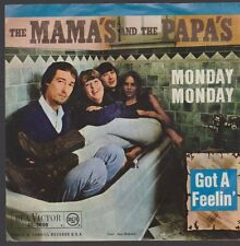 "7"" The Mama`s And The Papa`s Monday Monday / Got A Feelin` RCA 47-9698"