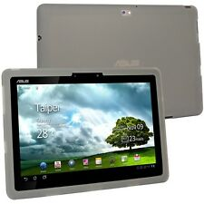 Silicone Skin Case Cover for Asus Eee Pad Transformer Prime TF201 tablet,Gray
