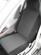 TO FIT A TOYOTA STARLET CAR SEAT COVERS - ANTHRACITE GREY, 2 FRONTS