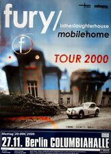 FURY IN THE SLAUGHTERHOUSE - 2000 - Konzertplakat - Mobile Home - Tourposter - B