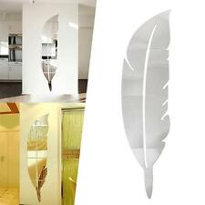 Amovible Accueil Miroir Stickers muraux Decal Art Vinyl Room Maison Decor DIY