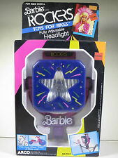 @ NEW NIB BARBIE DOLL BARBIE AND THE ROCKERS TOYS FOR BIKES HEADLIGHT PLAYSET