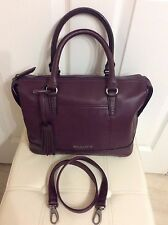 Tignanello Handbags: Soft Glove Leather Hand /Shoulder Bag in Chianti  Brand New