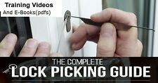 The complete lockpicking guides dvd
