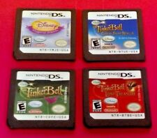 4 Disney Games Fairies: (3) Tinker Bell, Princess, Nintendo DS DS Lite 3DS 2DS