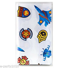 AMERICAN HEROES PLASTIC TABLE COVER ~ Birthday Party Supplies Military Army Boy