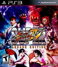 Super Street Fighter IV 4 : Arcade Edition PS3 (Sony PlayStation 3, 2011)