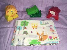 Stoffbuch Fotoalbum Baby Kind Kita handmade NEU