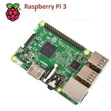 Raspberry Pi 3 Model B Quad Core 1.2GHz 64bit CPU 1GB RAM DS WiFi Bluetooth 4.1