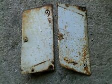 Farmall Cub 154 Tractor IH good white radiator side cover hood panels panel