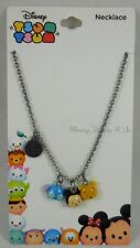 New Disney Tsum Tsum Mini Charm Lilo & Stitch Mickey Mouse Pooh Pendant Necklace