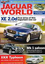 JAGUAR WORLD May 2015 XE FIRST DRIVE Mk1 Saloon XKR TYPHOON E-Type Series @NEW@