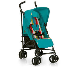 NEW HAUCK RAINBOW / PETROL ROMA LIGHTWEIGHT PUSHCHAIR BABY STROLLER CHILDS BUGGY