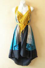"""M571 Reversible Vintage Silk Magic 30"""" Length Wrap Skirt Halter Tube Dress + DVD"""