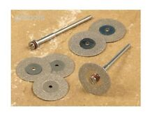 Tz 6PC mini diamant coupe couper disques & mandrill costume mini outil rotatif dril
