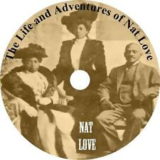 The Life and Adventures of Nat Love, Cowboy Autobiography Audiobook on 1 MP3 CD