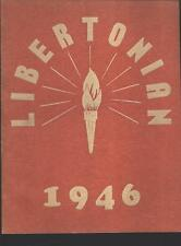 Liberty IN Short High School yearbook 1946 Indiana (includes grades 1 - 12)
