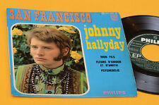 JOHNNY HALLYDAY EP SAN FRANCISCO ORIG FRANCE 4 CANZONI LAMINATED COVER
