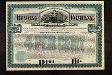 Reading Company Jersey Central USD 1,000 Gold Bond iss Anastasia McCarney