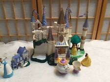 Vintage Beauty and the Beast Belle Light Up Castle Trendmasters 1998   Play set