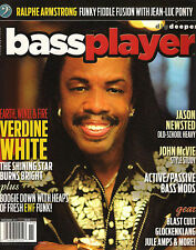 BASS PLAYER November 2013 VERDINE WHITE Jason Newsted McVie Jean-Luc Ponty TAB