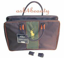 POLO Ralph Lauren Big Pony Travel Luggage Bag With Shoulder Strap