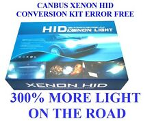 CANBUS XENON HID  KIT ERROR FREE H7 6000K  55W 300% MORE LIGHT IN THE ROAD