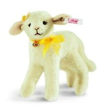 "STEIFF ""LILLY LAMB"" EAN 034473 WHITE WOOL PLUSH, STANDING, JOINTED, LIM ED"