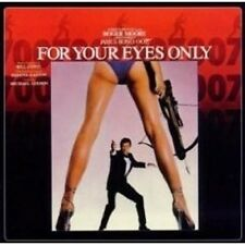For your eyes only (REMASTER) CD OST NUOVO