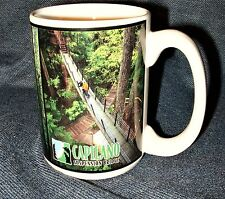 Capilano Supension Bridge Treetops Adventure Ceramic Souvenir Mug Canada NEW