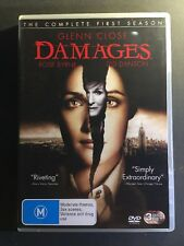 Damages : Season 1 (DVD, 2007, 3-Disc Set)