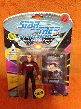 "1993 John de Lancie ""Q"" Action Figure Star Trek The Next Generation - New"