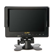 "Lilliput 7"" 667GL-70NP/H/Y LCD Video Camera Monitor 1920x1080 HDMI YPbPr EU Plug"