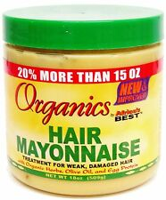 Organics Hair Mayonnaise Treatment For Week, Damaged hair By Africa's Best 511g