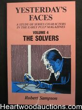 Yesterday's Faces Volume 4: The Solvers by Robert Sampson (Signed) (SOFTCOVER)-