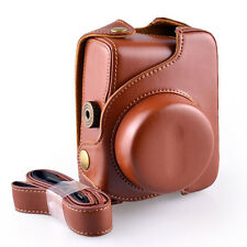 G1X Leather Camera Case Bag for Canon PowerShot G1X A4000 Protective Light brown