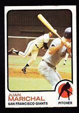 1973 TOPPS #480 JUAN MARICHAL GIANTS